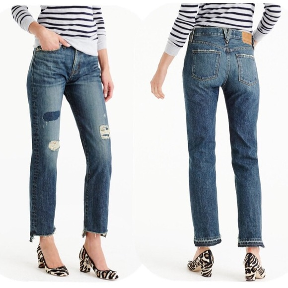 J. Crew Denim - SALE! Point Sur Shoreditch Jeans Destroyed Denim f5646ce10